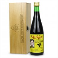 Personalised Buckfast Bottle Funny Hazard & Engraved Box Gift