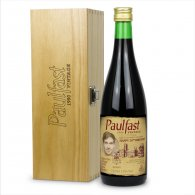 Personalised Buckfast Bottle Vintage Label & Engraved Box Gift