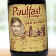 Personalised Vintage Buckfast Bottle Gift