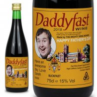 Fathers Day Personalised Buckfast Bottle Gift