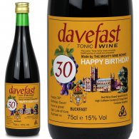 Personalised Buckfast Bottle Number Gift