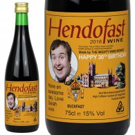 Personalised Buckfast Bottle Gift