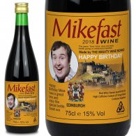 Personalised Edinburgh Buckfast Bottle Gift