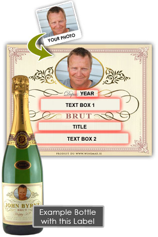 40th Birthday Champagne Personalised Gifts