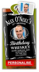 Personalised Whiskey Birthday Gift