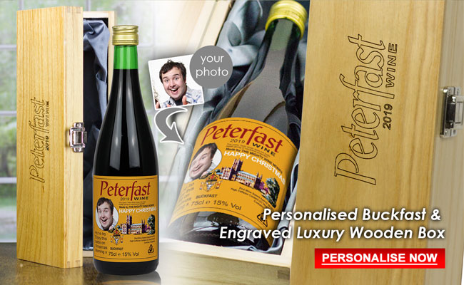 Personalised buckfast Gift Set